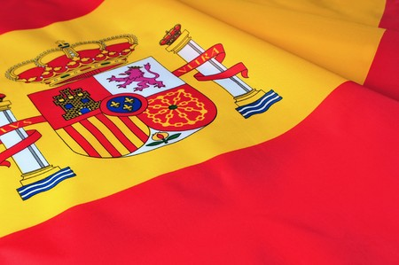 Flag of Spain photo