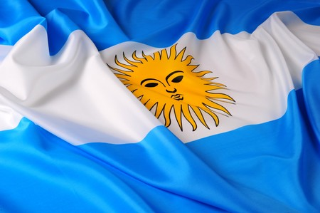 Flag of Argentina photo