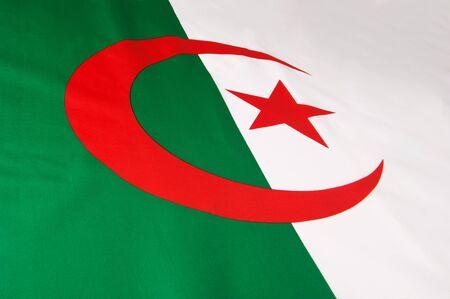 Flag of Algeria photo