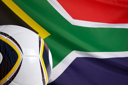 South Africa National ball and a soccer-ball photo
