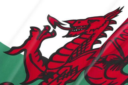 welsh flag: Welsh Flag close-up