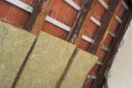 rockwool: heat insulation