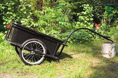 bike trailer Stock fotó - 1591190