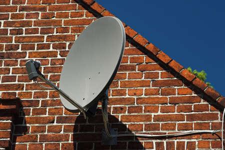 clinker: satellite dish