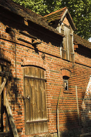 clinker tile: antiguo granero