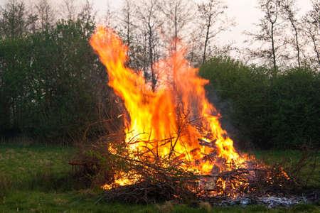 Feuer Standard-Bild - 4894981