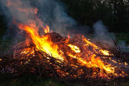Feuer Standard-Bild - 4894982