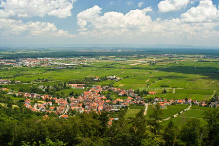 Rhine Valley in Germany Stock Photo