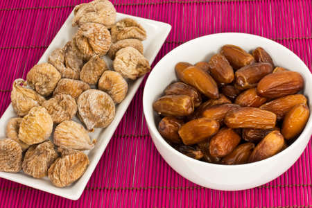 dried figs and dates