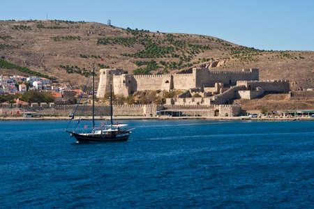 Festung auf Bozcaada, Türkei Standard-Bild - 5989570