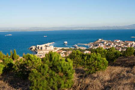 Aegaen-Insel-Bozcaada in der Türkei Standard-Bild - 5989593