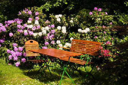 Seat in a garden Stock Photo - 6292922