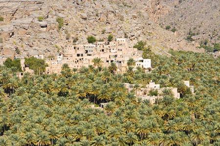 Misfah, Misfat, Oman Standard-Bild - 6981645