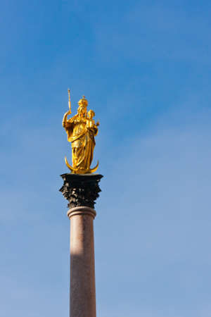 mary's: Marys column in Munich, Germany