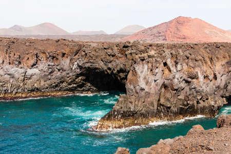 los hervideros: Costa Los Hervideros, Lanzarote, Spain