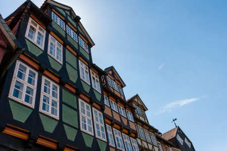 saxony: Halftimbered Houses in Celle Lower Saxony Germany