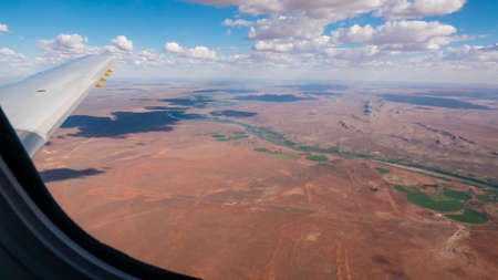 northern cape: Aerial photo of the province Northern Cape, South Africa Stock Photo
