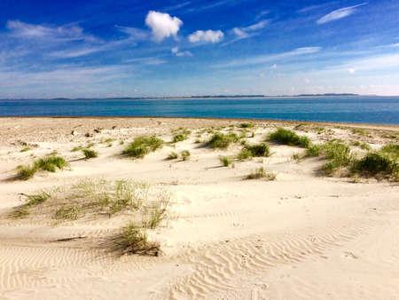 IJsland Amrum in de Noordzee in Duitsland
