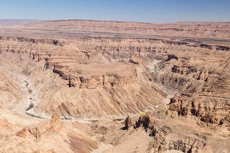 horizontal format horizontal: Fish River Canyon, Namibia, southern Africa