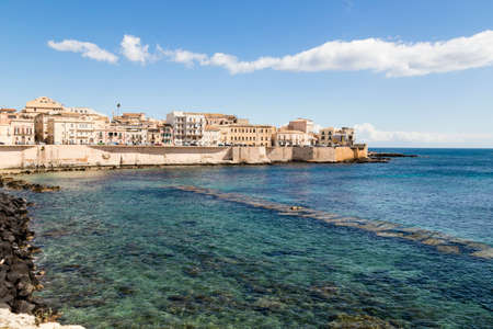 old town of Syracuse, Sicily, Italy Stock Photo
