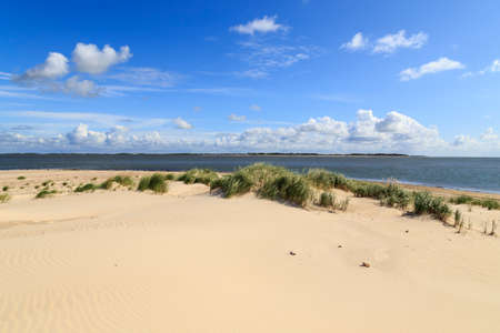 Beach on Amrum, North Frisian Island, Germany