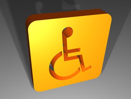 disable: Disable sign Stock Photo