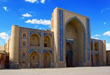 Ulugh-beg Madrasah (1417)  famous historic  building in Bukhara Uzbekistan