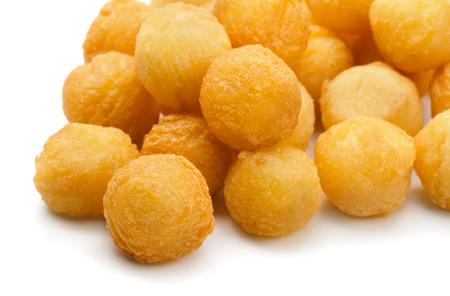 Close up de boules de pommes de terre frites Banque d'images - 31371542
