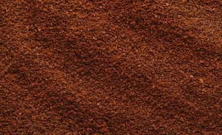 Texture of natural ground coffee Imagens