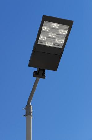Illumination lampadaire LED Banque d'images - 34386270