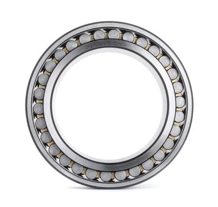 cylindrical: Cuscinetto a rulli cilindrici isolato su bianco