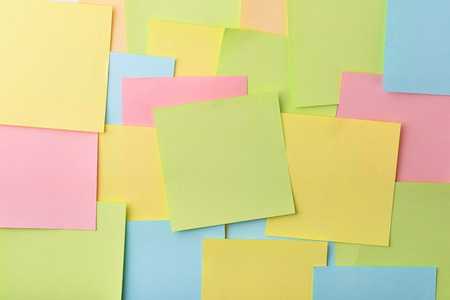 colored paper: Background of color paper notes