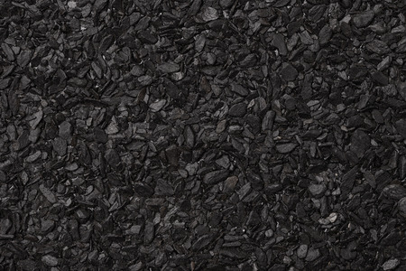 ruberoid: Close up of roll asphalt roofing material