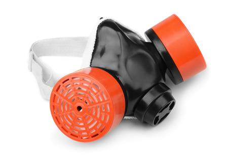 multipurpose: Multi-purpose respirator mask isolated on white Stock Photo