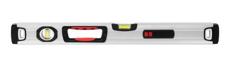 levels: Spirit level tool isolated on white