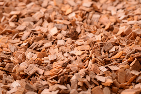 Background of wood chips