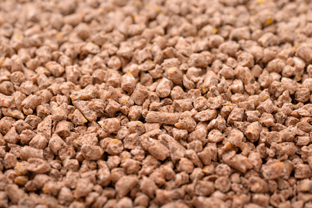 feed: Background of animals compound feed pellets