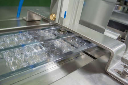 blister packing machine in pharmaceutical industrial,food supplement,soft geltatin capsule filling