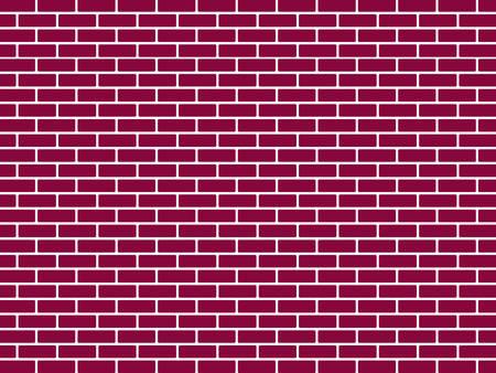 Rode bakstenen muur achtergrond vector illustratie Vector Illustratie