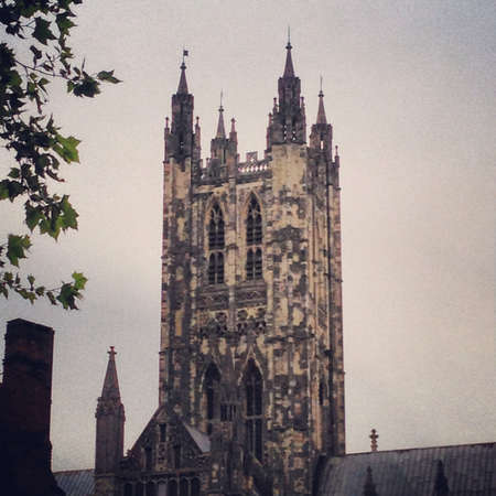soul: Canterbury cathedral tower