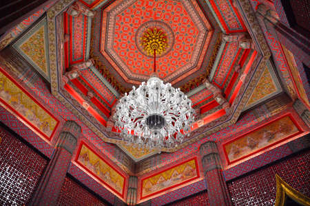 celling: Thai temple celling