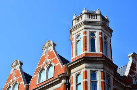 gable home renovation: British Building Stock Photo
