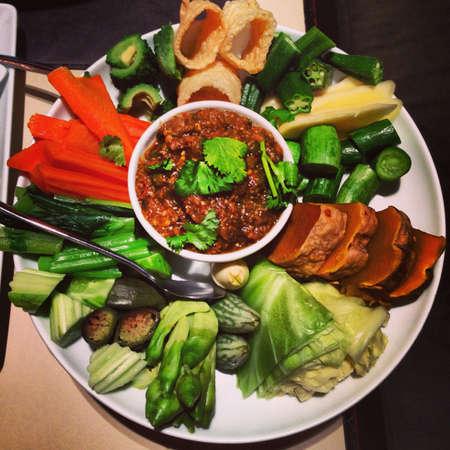 nam: Nam prik, Thai food