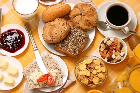 continental breakfast Stock Photo - 9982650