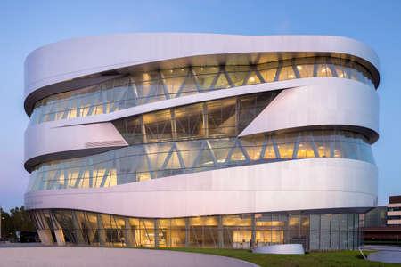 benz: Mercedes-Benz Museum in Stuttgart, Germany
