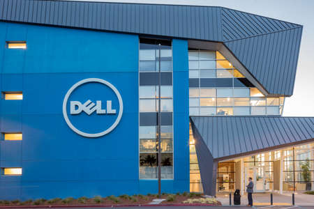 SANTA CLARA, CALIFORNIA - NOVEMBER 4, 2015:  In an effort to increase its influence in the rapidly changing tech industry, Dell expanded its presence in Silicon Valley by adding 600 employees to its research and development center in Santa Clara.