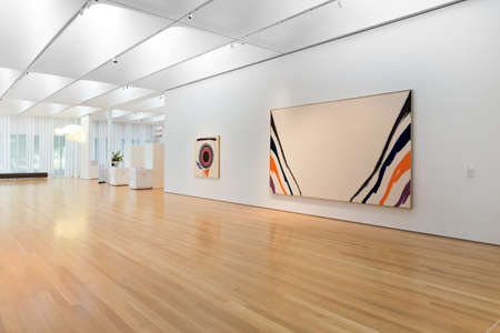 RALEIGH, NORTH CAROLINA - JULY 21, 2015: The North Carolina Museum of Art is an art museum in Raleigh, North Carolina which opened in 1956 as the first major museum collection in the country to be formed by State legislation and funding.