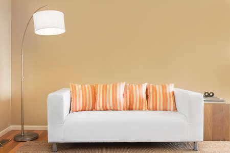 white sofa: Sofa  couch in white