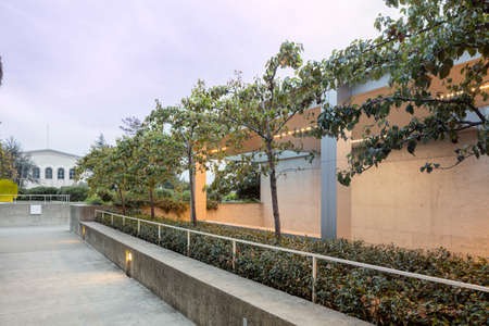 natural science: OAKLAND, CA - DEC 5, 2015: The Oakland Museum of California or OMCA (formerly the Oakland Museum) is an interdisciplinary museum dedicated to the art, history, and natural science of California, located in Oakland, California. The museum contains more tha Editorial