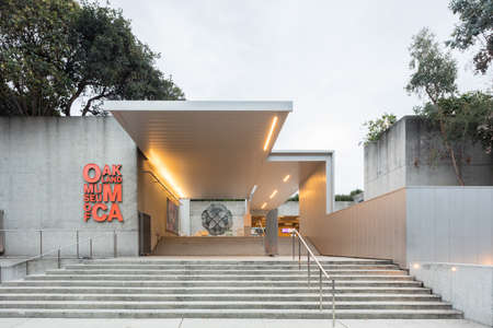 interdisciplinary: OAKLAND, CA - DEC 5, 2015: The Oakland Museum of California or OMCA (formerly the Oakland Museum) is an interdisciplinary museum dedicated to the art, history, and natural science of California, located in Oakland, California. The museum contains more tha Editorial
